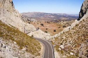Motorrijden in het zuiden van Spanje is paradijs voor de motorrijder.