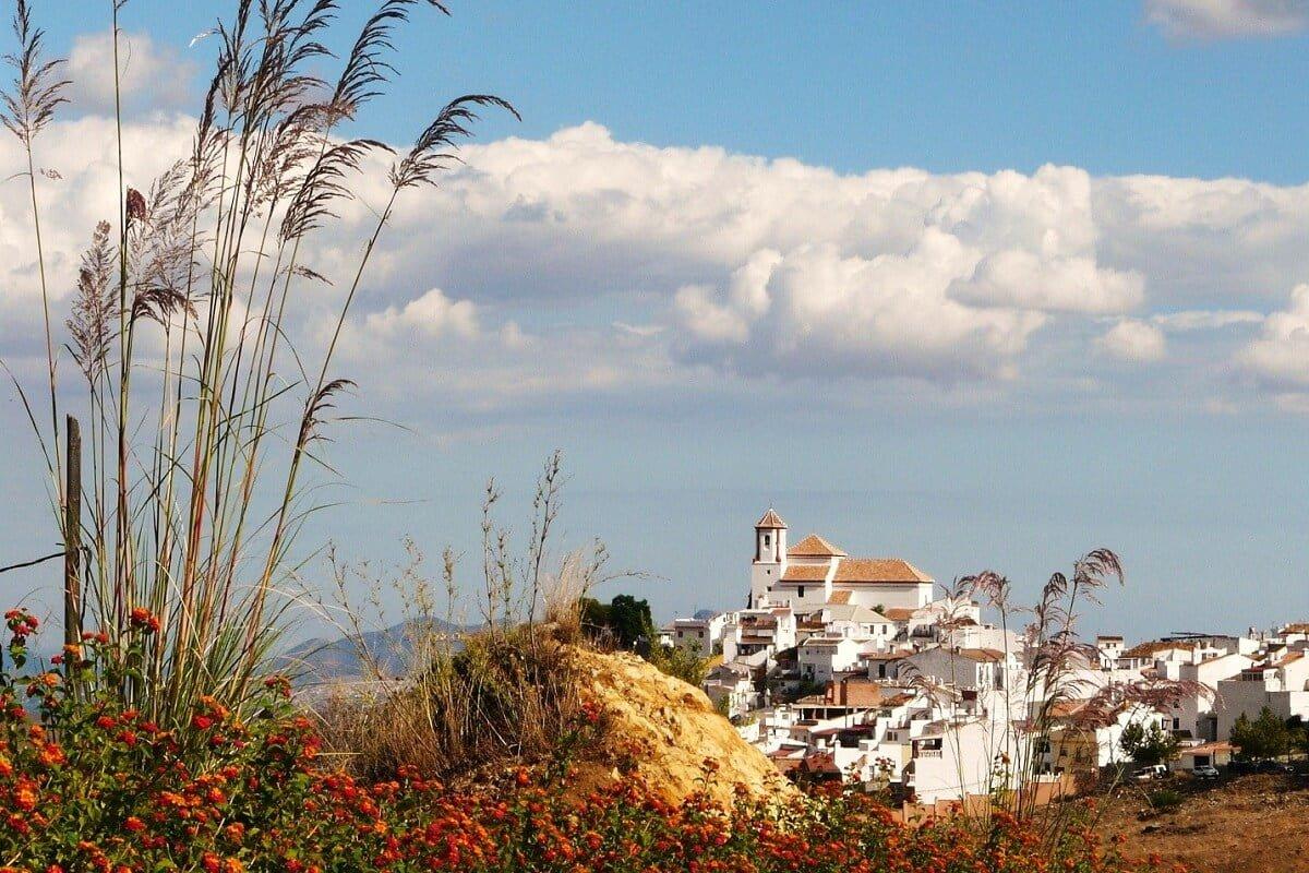 El Burgo een van de bekende witte dorpen in Andalusie