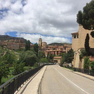 Met Travelmoto op pad in de provincie Valencia en de plaats Requena.
