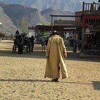 El desierto de Tabernas. Gortdroog en Genadeloos heet
