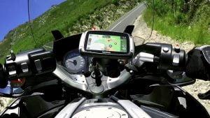 TomTom rider navigatie op de motor,