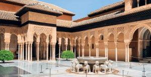 Palacia van het La Alhambra in de jaren dat wij nog al blijf waren met slot Loevestijn!